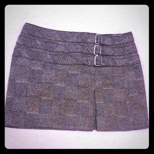 Express Pleated Mini Skirt